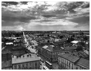 Imageof Church of St. Olha and Elizabeth. view street town city ukraine lviv life monochrome mono blacknwhite blackwhite blackandwhite bnw bw white black