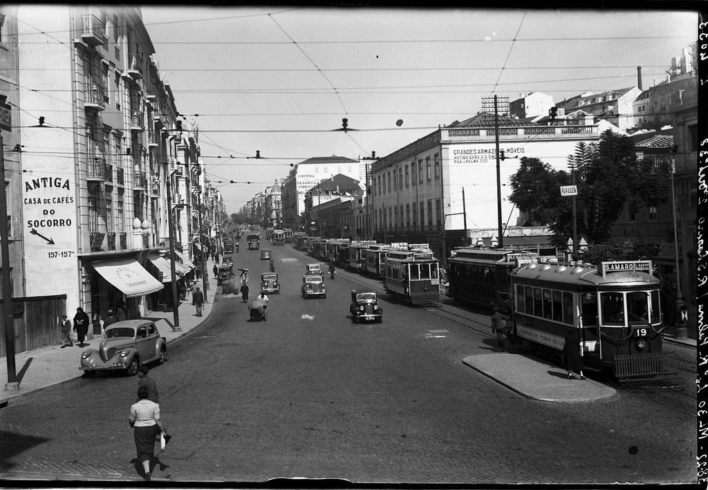Rua da Palma, Lisboa (E. Portugal, 194...)