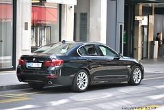 BMW 5-Series - Switzerland, diplomatic plate