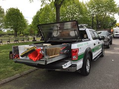 NYC DOT F-150 With Packed Bed Under DiamondBack Cover