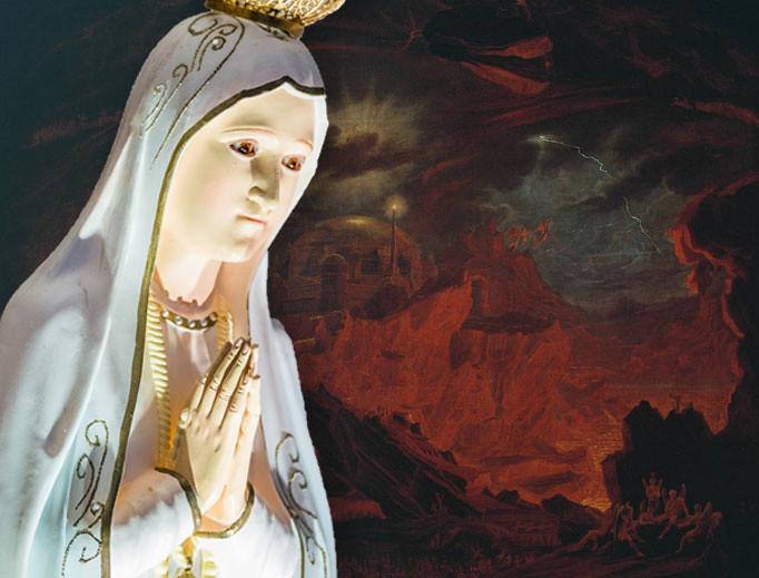 Điểm chung Fatima và thánh Faustina: Những thị kiến đáng sợ về hỏa ngục