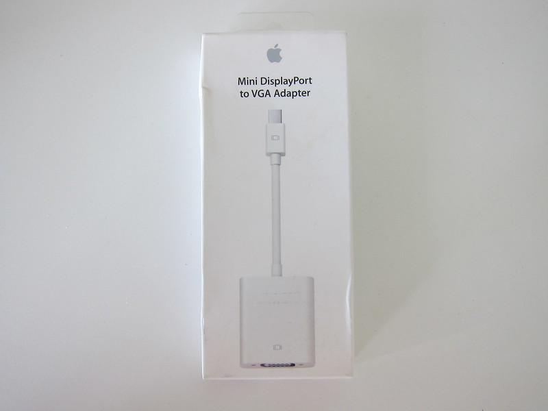 Apple Mini DisplayPort to VGA Adapter - Box Front