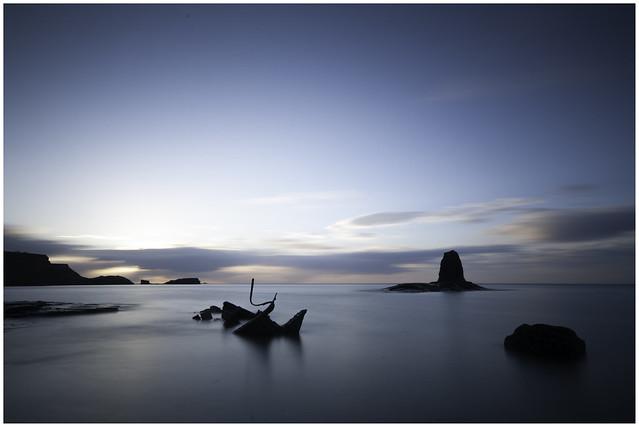 Saltwick Sunset 02, Nikon D300, Sigma 10-20mm F4-5.6 EX DC HSM