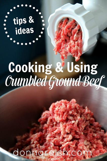 Tips & Ideas for Cooking & Using Crumbled Ground Beef