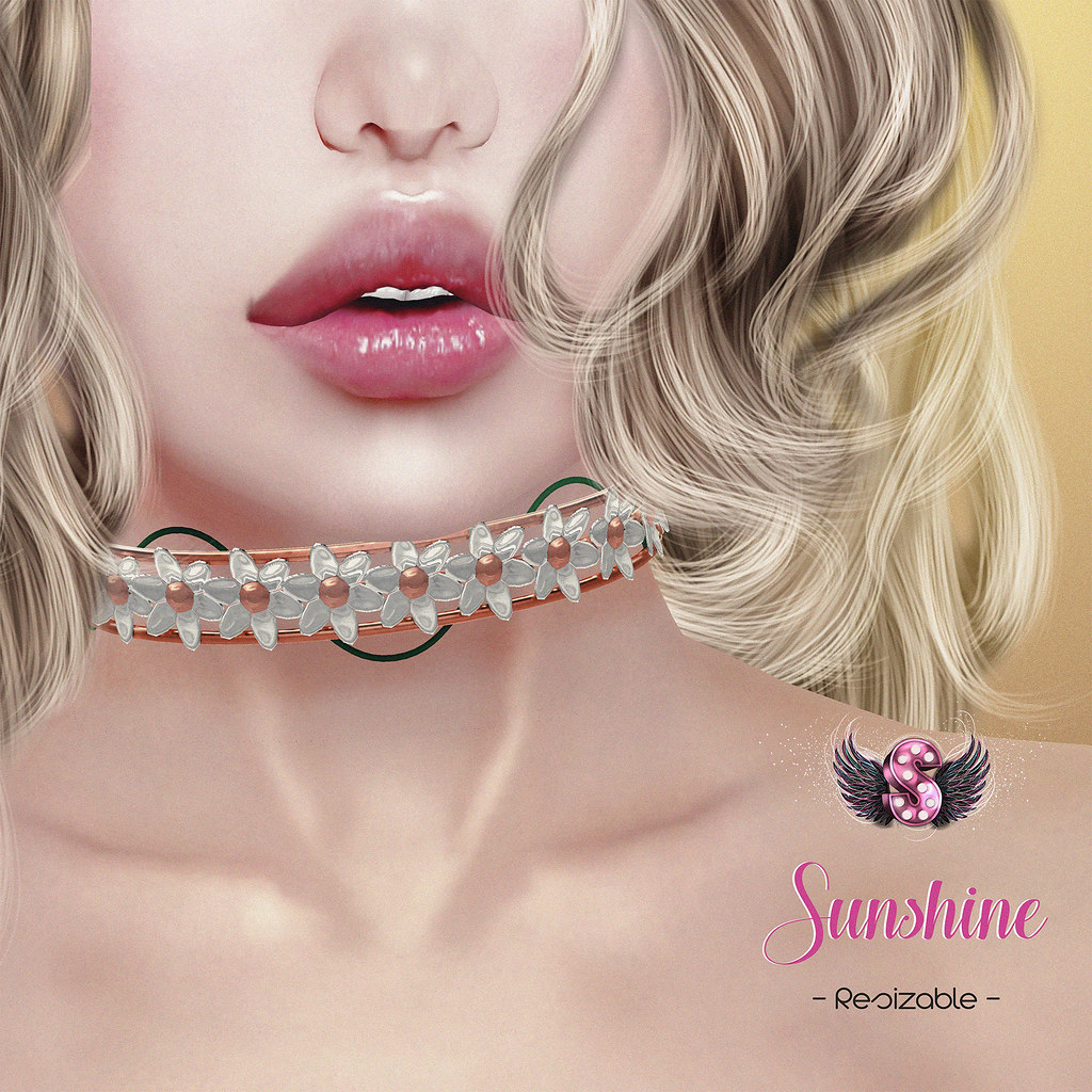 .::Supernatural::. Sunshine Choker @ The Kawaii Project - SecondLifeHub.com