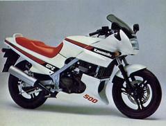 Kawasaki 500 GPZ 2001 - 12