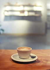 r.e. ~ posted a photo:	Beautiful space, good coffee at this newer location of Beacon Cofee.