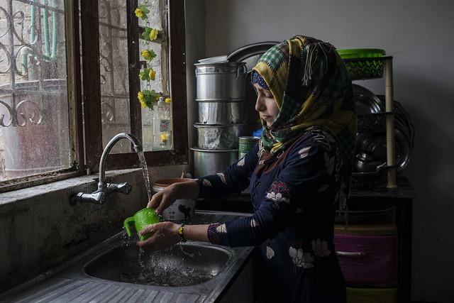 undp wash development infrastructure iraq mosul salamiyah unitednations water ninewa irq