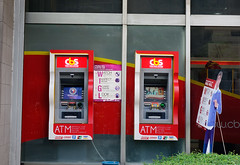ATM booths in Manila, Philippines