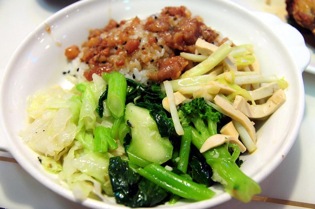 東一排骨-菜飯 2012-06-27
