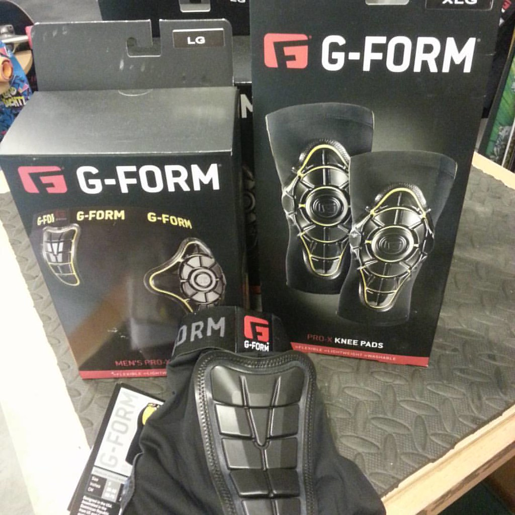 G-Form pads harden on impact. Let them take blows for you. #g-form