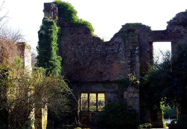 Scotney Castle view.