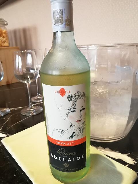 <p>今日の白ワインはちょっと甘めです。</p>