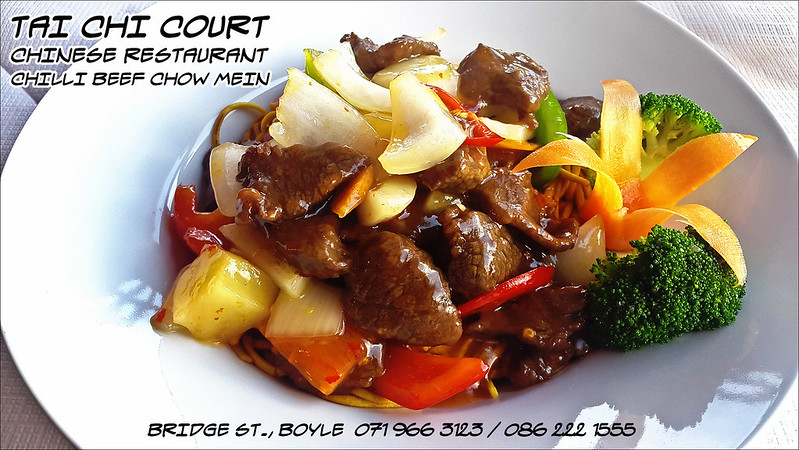 Tai Chi Court Chilli Beef Chow Mein