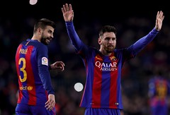 Com show de Messi, Barça vence dérbi de goleada e encosta no Real