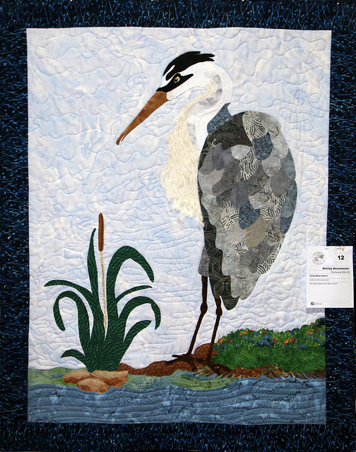 012: Great Blue Heron—Shirley Buckmaster