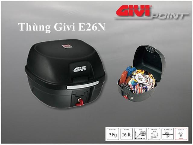 Thung xe Givi - 3