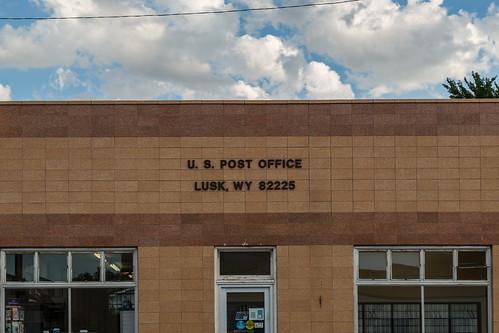 U.S. Post Office, Lusk, Wyoming 82225