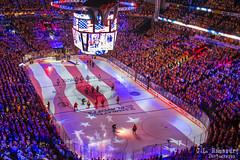 National Anthem at Game 4 - Western Conference Finals