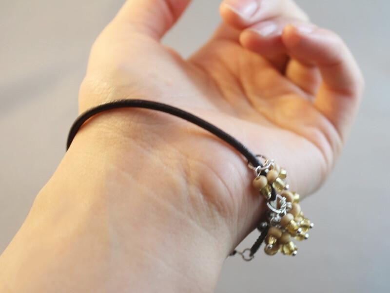 finished cluster bracelet 2