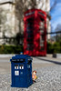 The TARDIS and the phone box