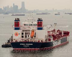 Stena Penguin Crude Oil Tanker (2010), Fort Wadsworth, New York City