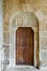 DSC6792 Puerta de entrada a la torre de San Miguel de Escalada (León)