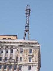 Rooftop Mooring Mast---Birmingham, Al.