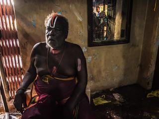 Temple Priest - Koovagam, India