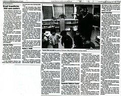 Caring for Kids, San Francisco Sunday Examiner and Chronicle, December 29 1996, 2 of 2