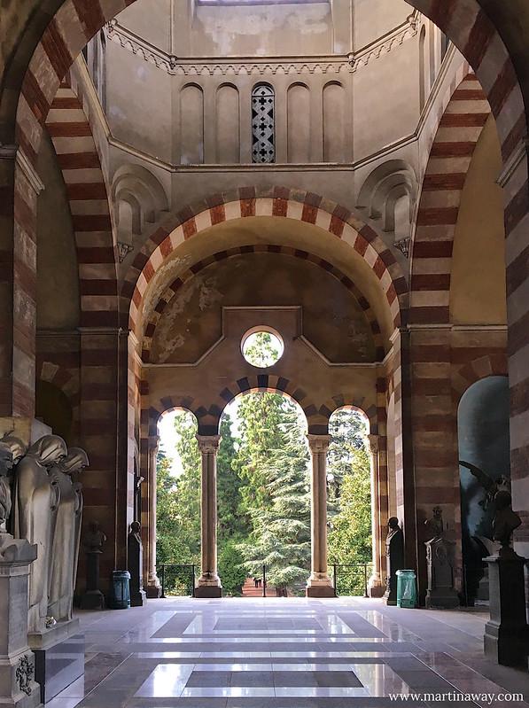 Galleria del Cimitero Monumentale di Milano