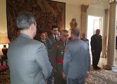Acto de condecoración al GE JEME Francisco Javier Varela Salas en la Residencia del Embajador de Portugal