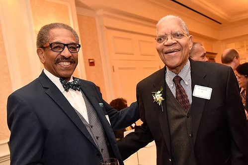 Duke celebrates the life of Samuel Dubois Cook (right), the first African-American faculty member at Duke University whose career of scholarship and activism inspired numerous scholars and students of all backgrounds, who died Tuesday. Through more than 6