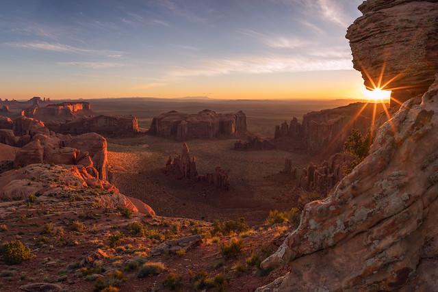 Sunrise at Hunts Mesa