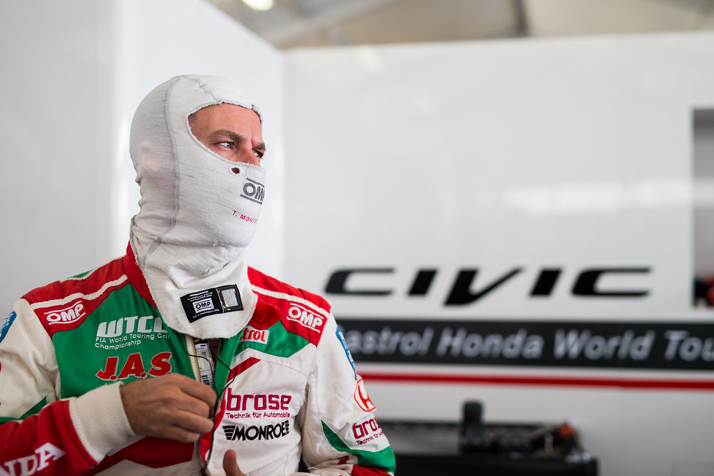 MONTEIRO Tiago (prt), Honda Civic team Castrol Honda WTC, ambiance portrait during the 2017 FIA WTCC World Touring Car Race of Nurburgring, Germany from May 26 to 28 - Photo Antonin Vincent / DPPI
