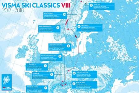 Visma Ski Classics už představila kompletní termínovou listinu 2017-2018