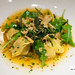 Squash Tortellini, Arugula, Bone Marrow and Crispy Gremolata (from Seasonal tasting menu)
