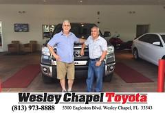 #HappyBirthday to Dennis  from Jordan Deblasse at Wesley Chapel Toyota!