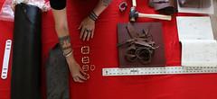 Leatherworking workshop