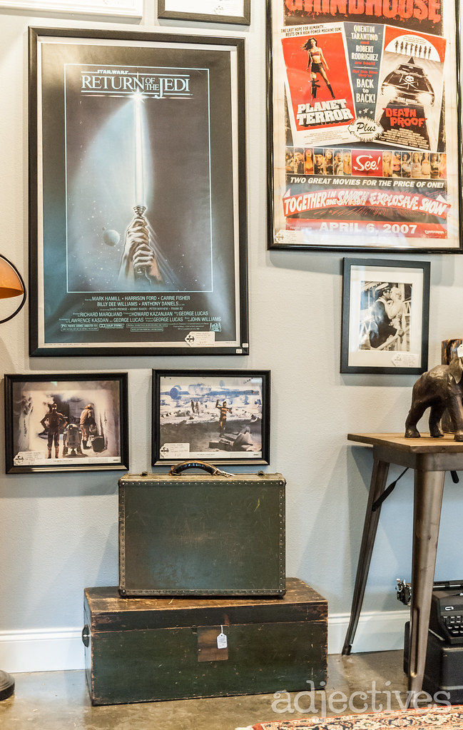 Vintage Star Wars movie posters and trunks in Altamonte by Ship to Shore