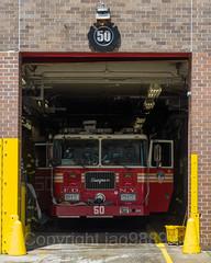 FDNY Engine 50 Fire Truck, Morrisania, Bronx, New York City