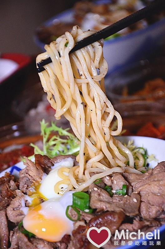武 燒肉丼 烏龍麵