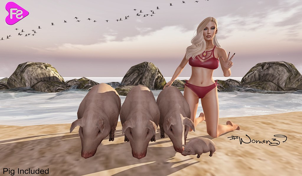 [Frimon Store] #Women39 (Pig included) Exclusive TWE12VE Event - SecondLifeHub.com