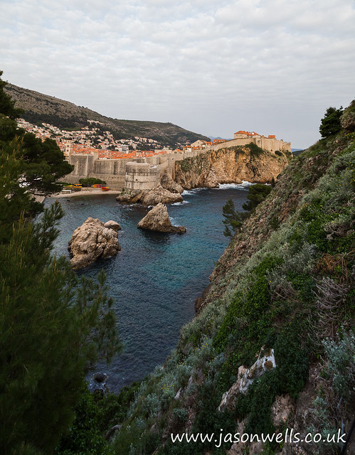 Medieval walls of Dubrovnik, Canon EOS 6D, Canon EF 24-105mm f/4L IS