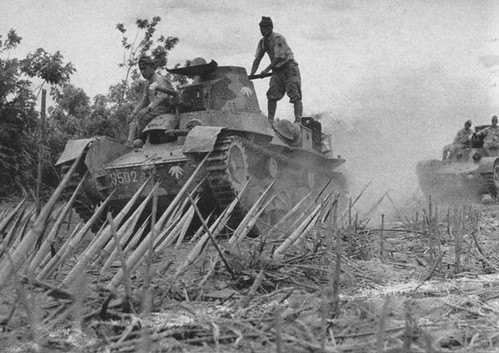 Ha-Go Tanks in Bataan