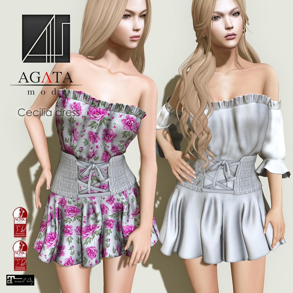 Cecilia dress @ Shiny Shabby - SecondLifeHub.com
