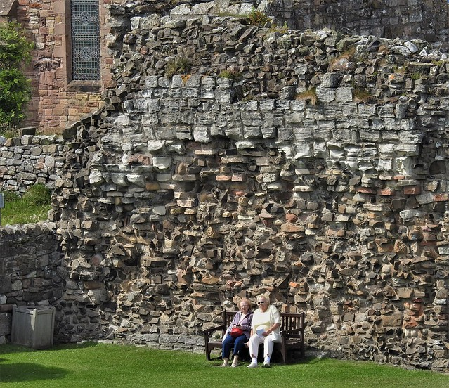 Lindisfarne Priory - Rest Stop