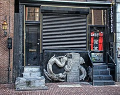 Tattoo Shop on Reguliersbreestraat, Rembrandtplein Amsterdam