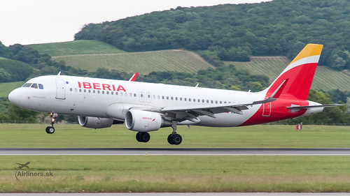 EC-LUL Iberia A320