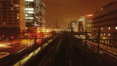 City Night Cityscape Illuminated Architecture City Life Outdoors Modern Sky